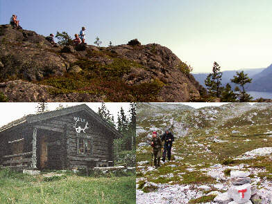 Hut tours around Hovin i Telemark, Norway